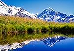 Aoraki Mt Cook reflection