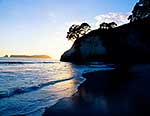 Cathedral Cove dawn, Hahei