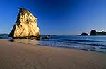 Sea stack, Cathedral cove