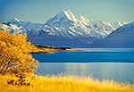 Mt Cook / Aoraki and Lake Pukaki, Autumn