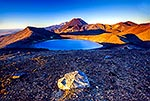 Mt Tongariro, and Blue Lake