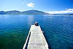 Lake Rotoaira jetty