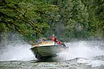 Rapids jet boat ride, Southland