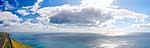 Clouds over sea, Cook Strait