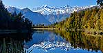 Calm waters of Lake Matheson