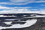 View of Mount Erebus from Cape Evans