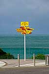 Bluff signpost at Stirling Point